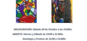 Exposición de pintura Pop-Abstracta