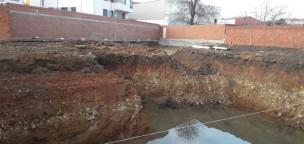 Centro de Día: Comenzando la excavación