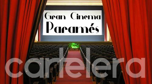 Cartelera semanal del Cine Paramés