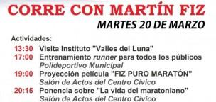 Corre con Martín Fiz