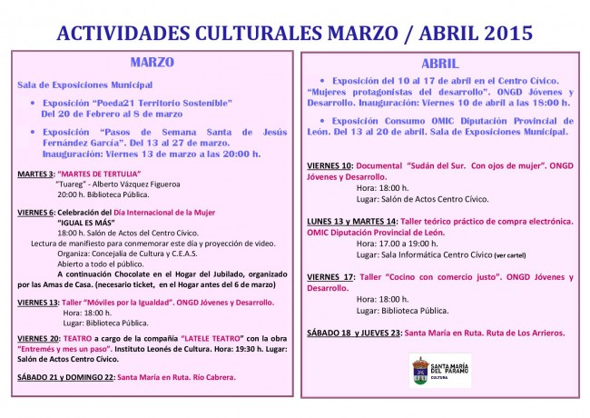 culturales2015
