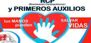 Curso de primeros auxilios y reanimación cardiopulmonar