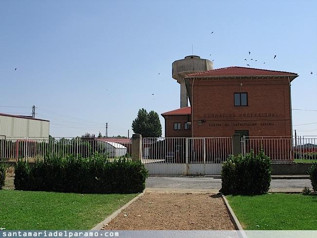 Centro de Educación Agraria, donde se localizan las oficinas de la unidad veterinaria