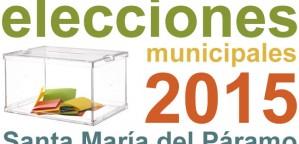 Municipales 2015: Candidaturas presentadas