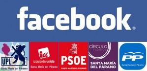 Política municipal en Facebook