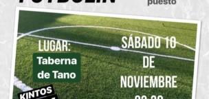 Torneo de Futbolín