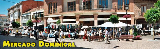 Mercado Dominical en Santa María del Páramo