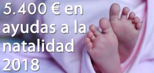Aprobadas las ayudas a la natalidad 2018