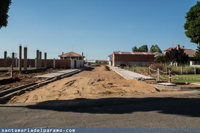 Estado de las obras en la calle Foncebadón