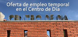 Oferta de empleo en el Centro de Día