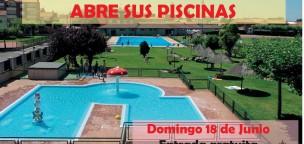 Mañana abren las piscinas de Santa María del Páramo