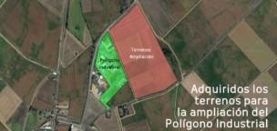 Aprobada la ampliación del Polígono Industrial