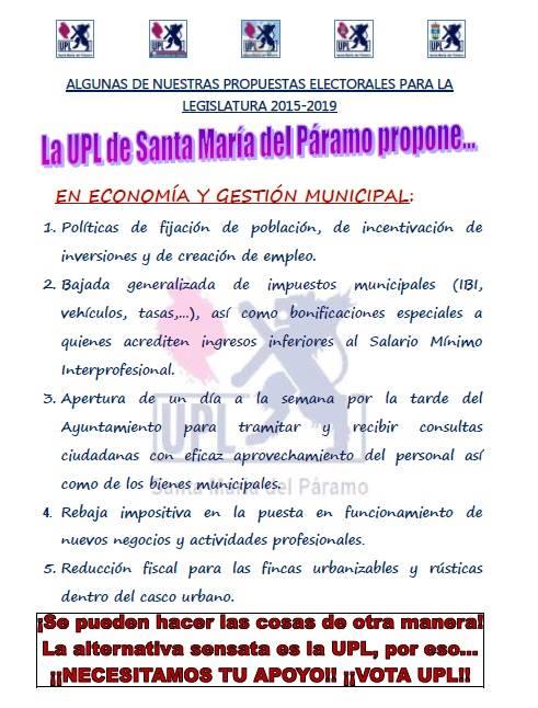 propuestas UPL