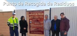 Inaugurado el Punto de Recogida de Residuos 5 años después de la ordenanza que lo regula