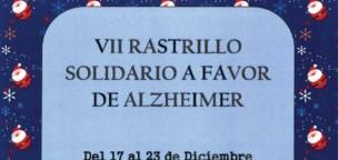 VII Rastrillo Solidario a favor de Alzheimer